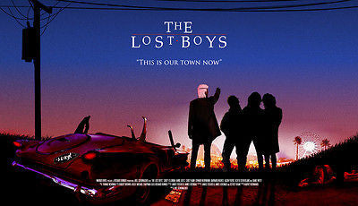 Lost Boys Alternative Movie Poster- Sundown (A2)