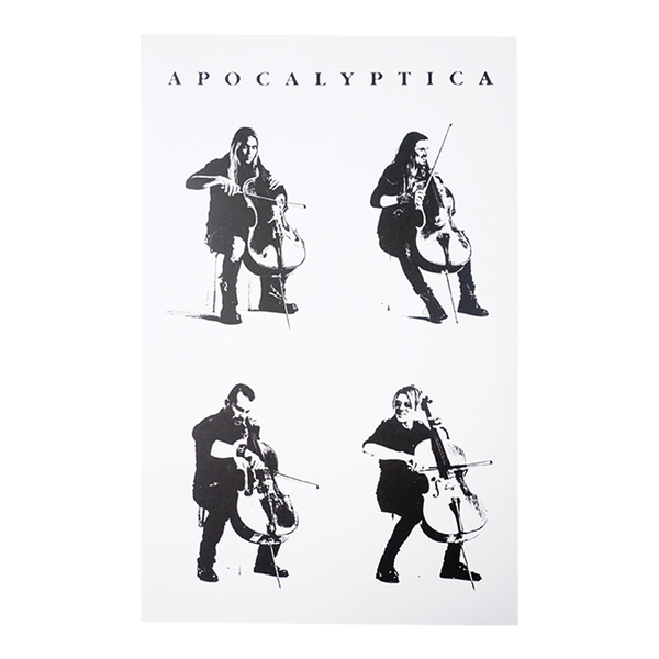 Lithograph 4 Cellos Poster