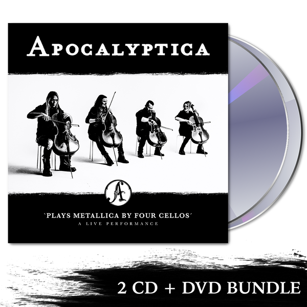 Apocalyptica Plays Metallica By Four Cellos - A Live Performance 2 CD + DVD
