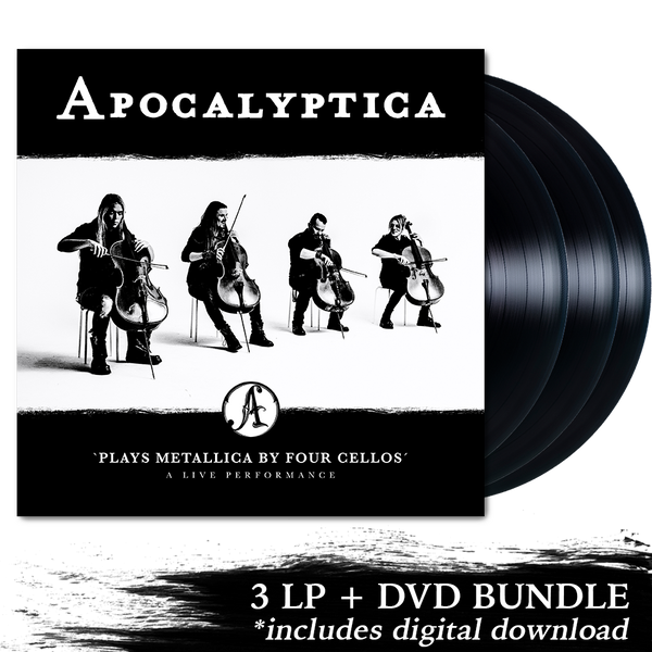 Apocalyptica Plays Metallica By Four Cellos - A Live Performance 3 LP + DVD