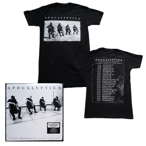 Plays Metallica Vinyl + Tee Bundle