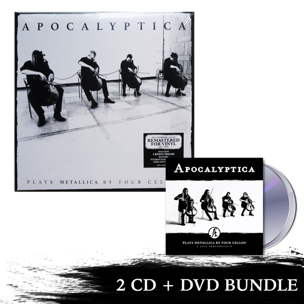 Plays Metallica Live Performance 2 CD + DVD + Remastered Plays Metallica Vinyl