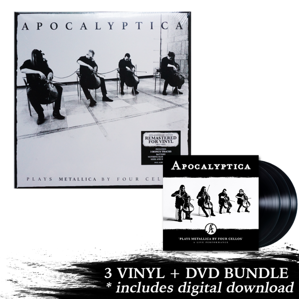 Plays Metallica Live Performance 3 LP + DVD + Remastered Plays Metallica Vinyl
