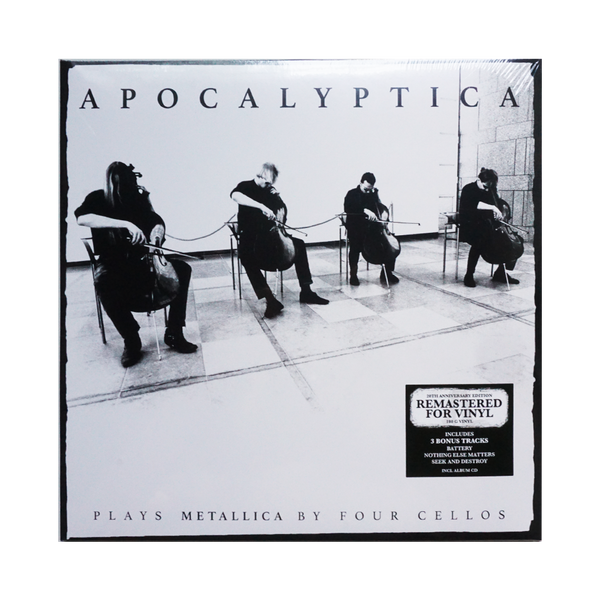 Apocalyptica Plays Metallica By Four Cellos Vinyl