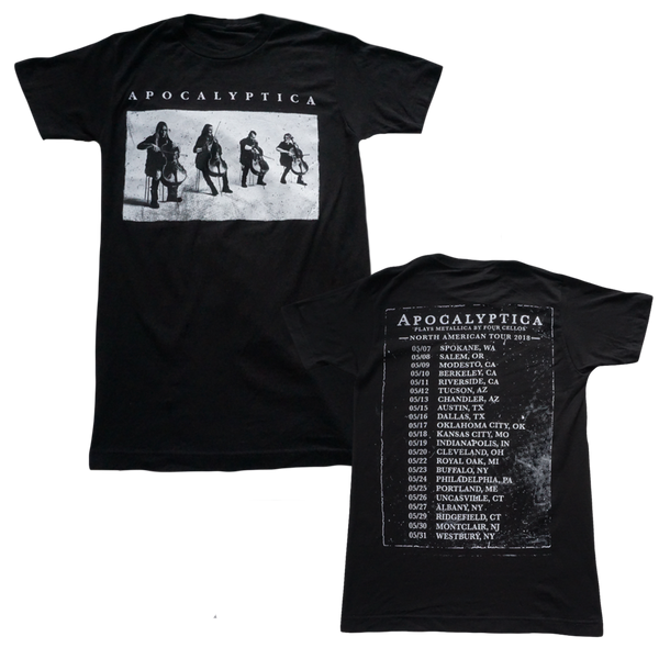 Cello Black Photo 2018 Tour Tee