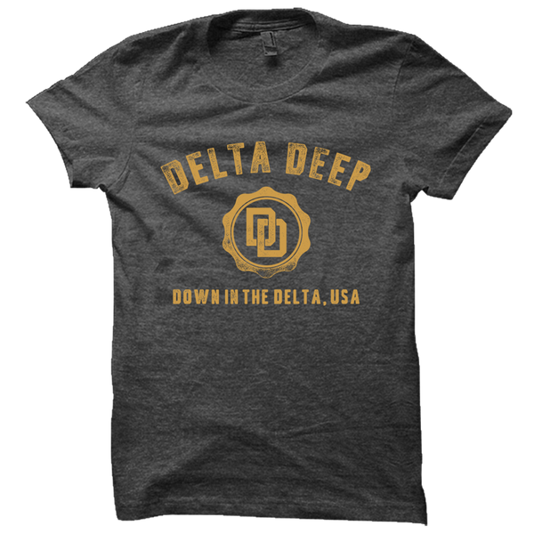Down In The Delta Heather Tee