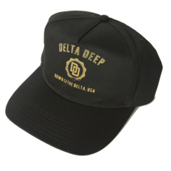 Black Logo Trucker Hat