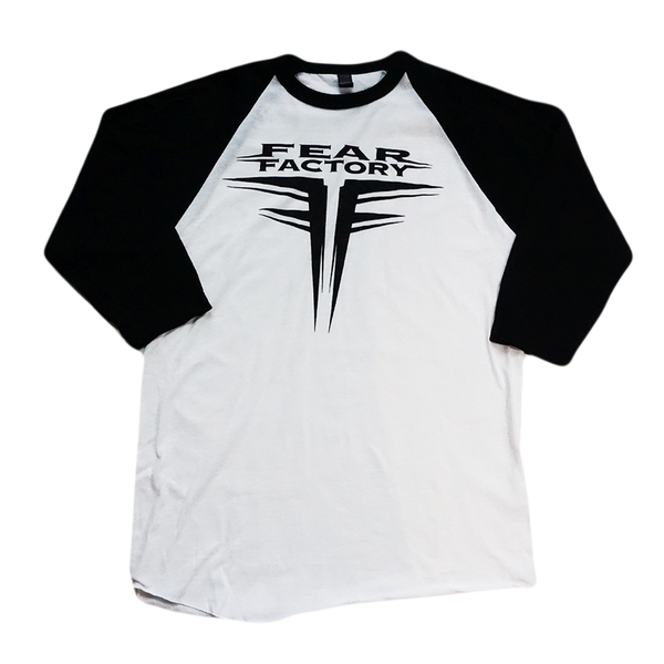 Fear Factory Logo Raglan