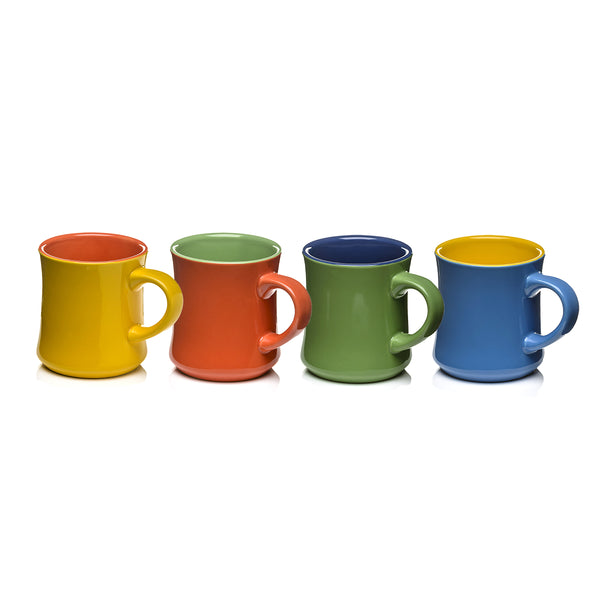 Good-Bi Mugs Set of 4