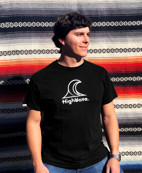 Highwave Black T-Shirt