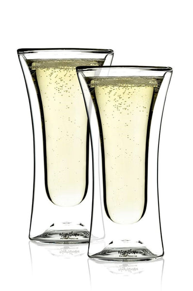 Spark Stemless Champagne Glass Set