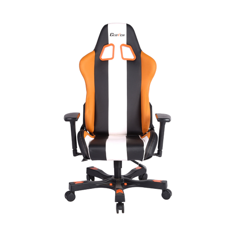 Crank Series Bravo Orange/Black/White Gaming Chair
