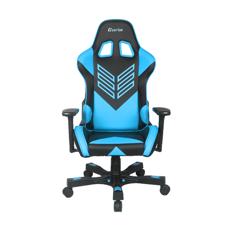"Crank Series ""Onylight Edition"" Blue Gaming Chair"