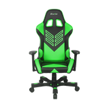 "Crank Series ""Onylight Edition"" Green Gaming Chair"