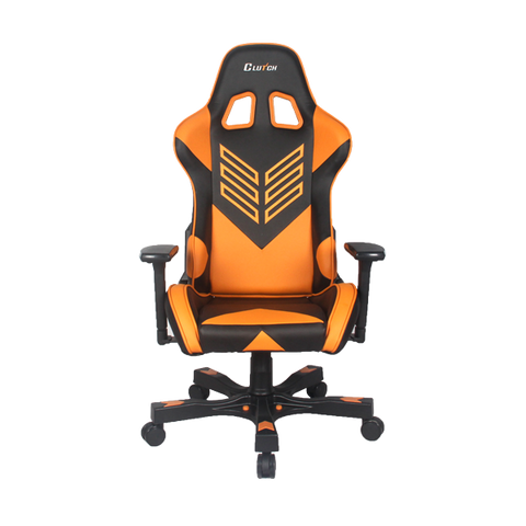 "Crank Series ""Onylight Edition"" Orange Gaming Chair"