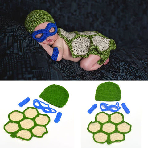 Ninja Turtle Super Cute Baby Halloween Outfit Newborn Gift - The Superhero Baby