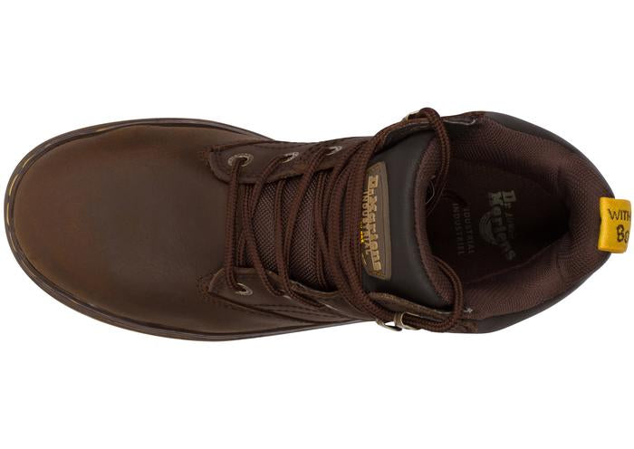 Dr Martens Industrial Plenum WP Steel Toe Republic Dark Brown