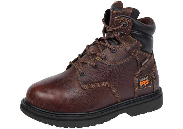 Timberland Pro Flexshield 6 Inch Steel Toe Burgundy Oiled Full Grain