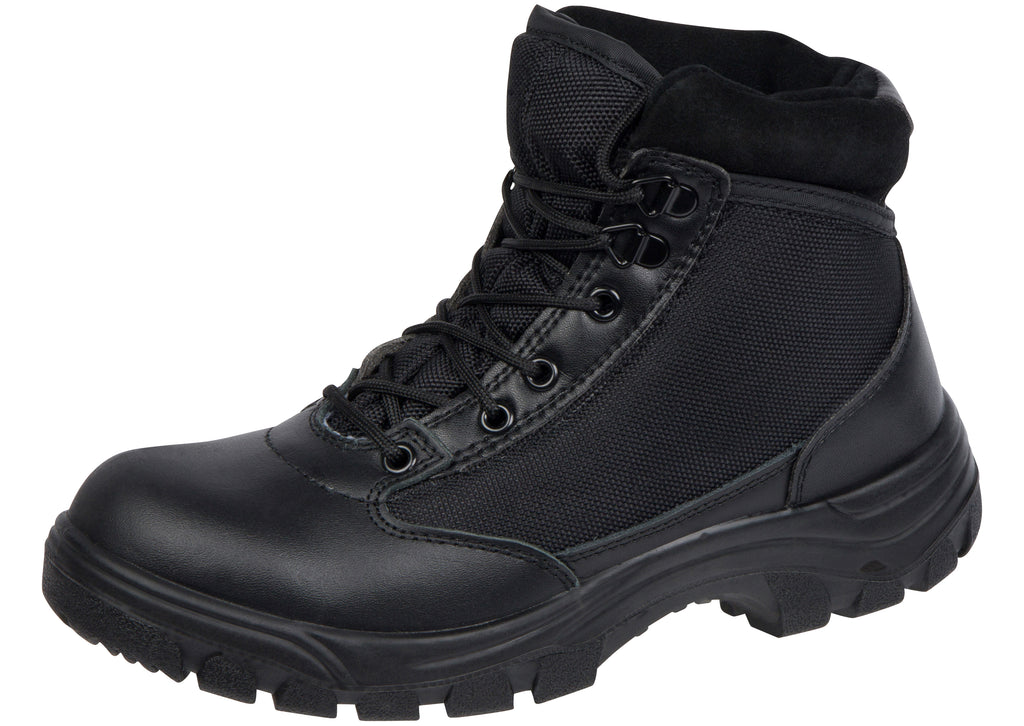 Work Zone 677 6 Inch Swat Boot Steel Toe Black