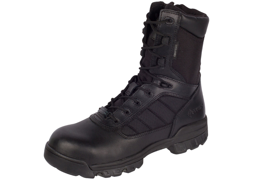 Bates 8 Inch Tactical Sport CT Black