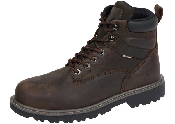 Wolverine Floorhand Steel Toe Waterproof Brown