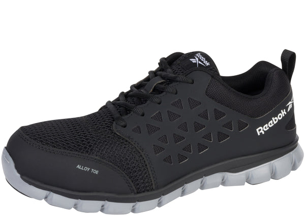 Reebok Work Sublite Cushion Work Alloy Safety Toe Black Grey