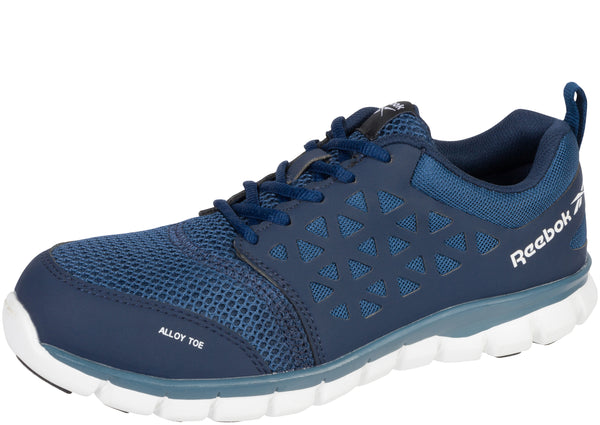 Reebok Work Sublite Cushion Work Alloy Safety Toe Navy White