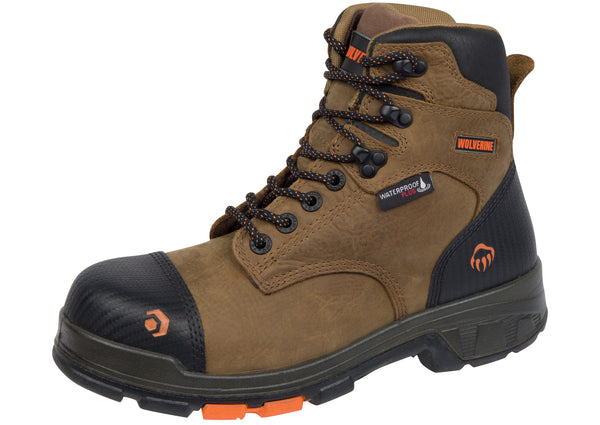 Wolverine Blade LX 6in CarbonMAX Composite Toe Brown