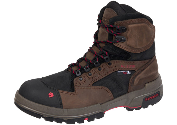 Wolverine Legend Durashock Composite Toe Waterproof Dark Brown