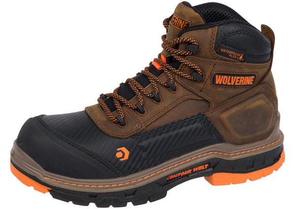 Wolverine Overpass Mid CarbonMAX Composite Toe Summer Brown