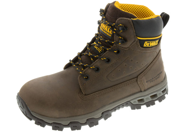 Dewalt Halogen Aluminum Safety Toe Palm Crazy Horse