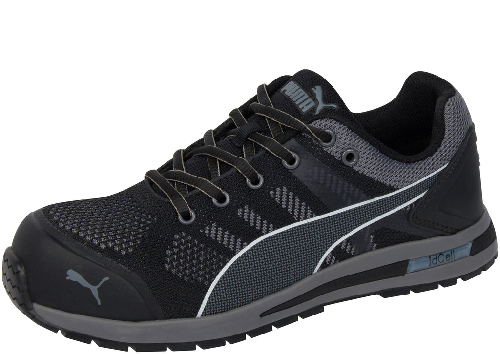 Puma Safety Elevate Knit Low Composite Toe Black Grey