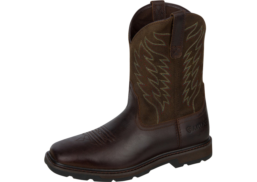 Ariat Groundbreaker Wide Square Toe Brown