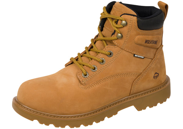 Wolverine Floorhand 6 Inch Wheat