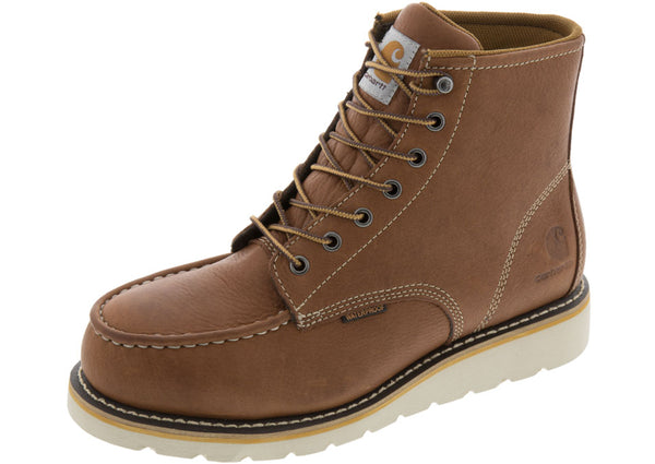 Carhartt 6 Inch Wedge Boot Steel Toe Tan