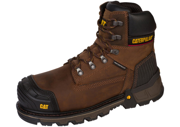 Caterpillar ExcavatorXL 6 Inch Composite Toe Dark Brown