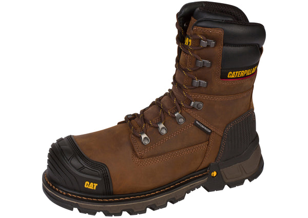 Caterpillar ExcavatorXL 8 Inch Composite Toe Dark Brown