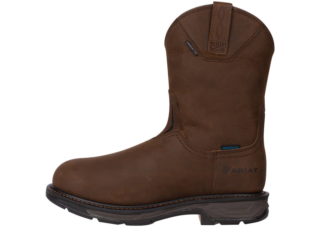 Ariat WorkHog XT Wellington H20 Carbon Toe Oily Distressed Brown