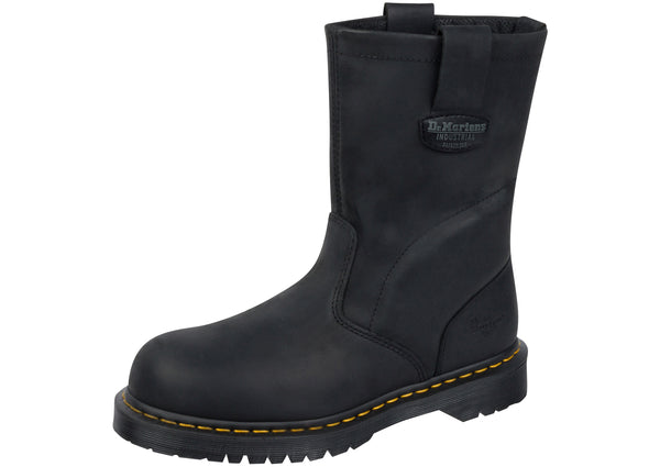 Dr Martens Work 2295 EX Wide Steel Toe Industrial Greasy Black
