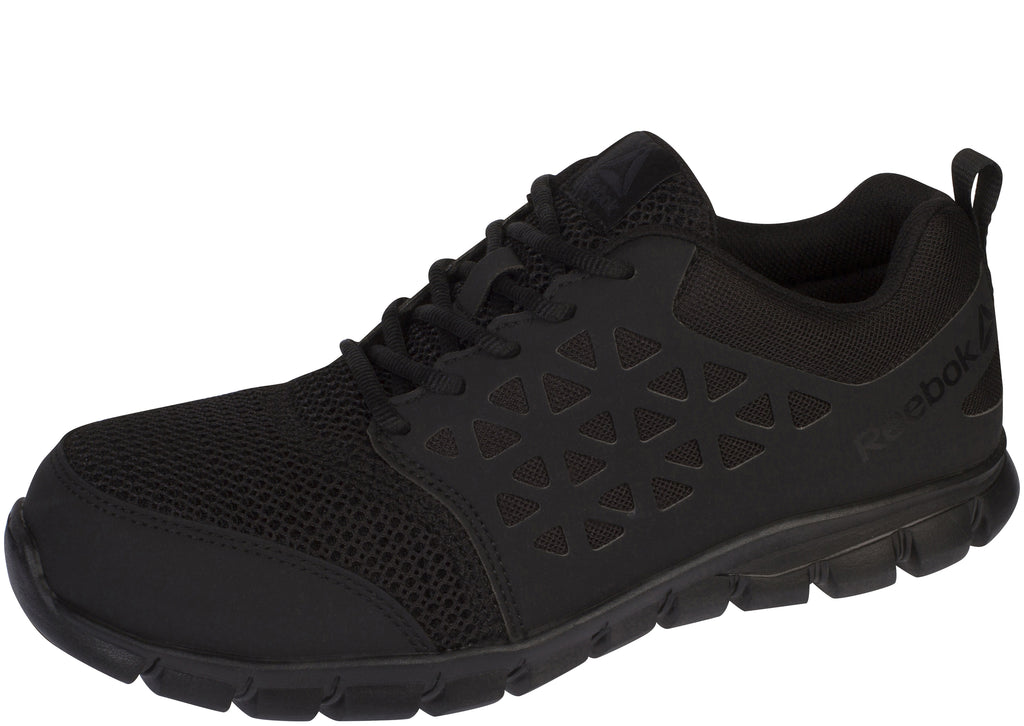 Reebok Work Sublite Cushion Work Composite Toe Black Black