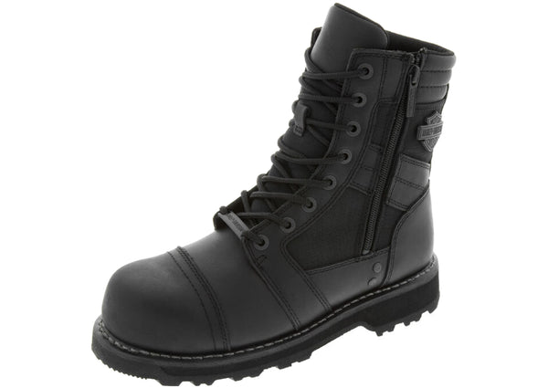 Harley Davidson Boxbury Composition Toe Black