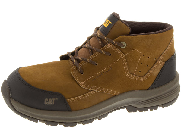 Caterpillar Resolve Mid Composite Toe Brown