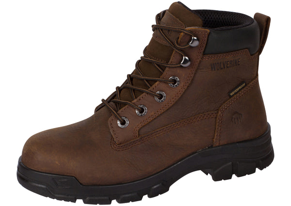 Wolverine Chainhand 6 Inch Steel Toe Brown