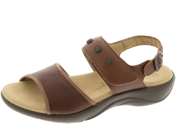 SAS Womens Lisette Woven Brown