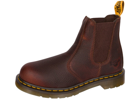 Dr Martens Work Womens Arbor Steel Toe Industrial Bear Teak
