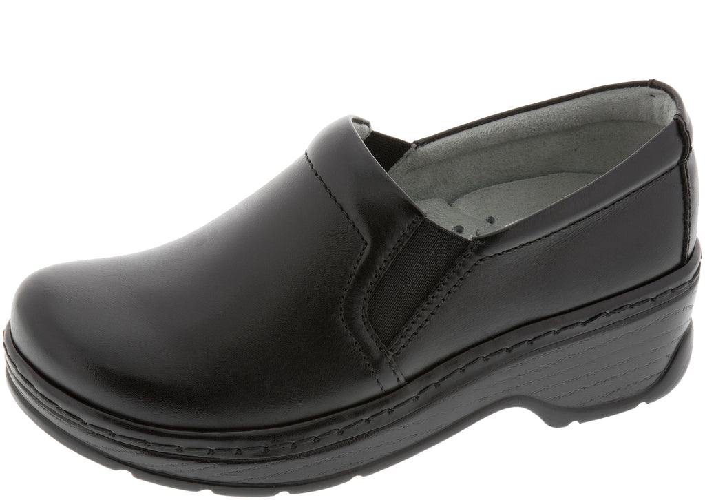 Klogs Womens Naples Black Smooth