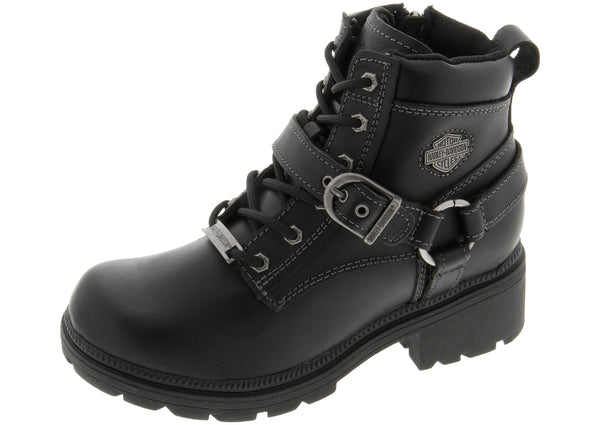 Harley Davidson Womens Tegan Black