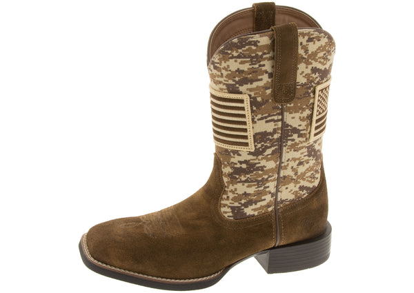 Ariat Sport Patriot Antique Mocha Suede