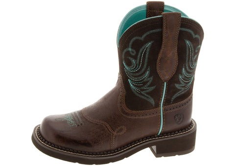 Ariat Womens Fatbaby Heritage Dapper Royal Chocolate Fudge
