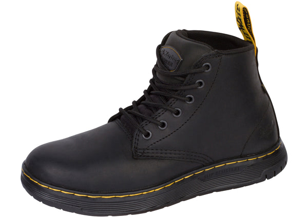 Dr Martens Work Ledger Steel Toe Black Black